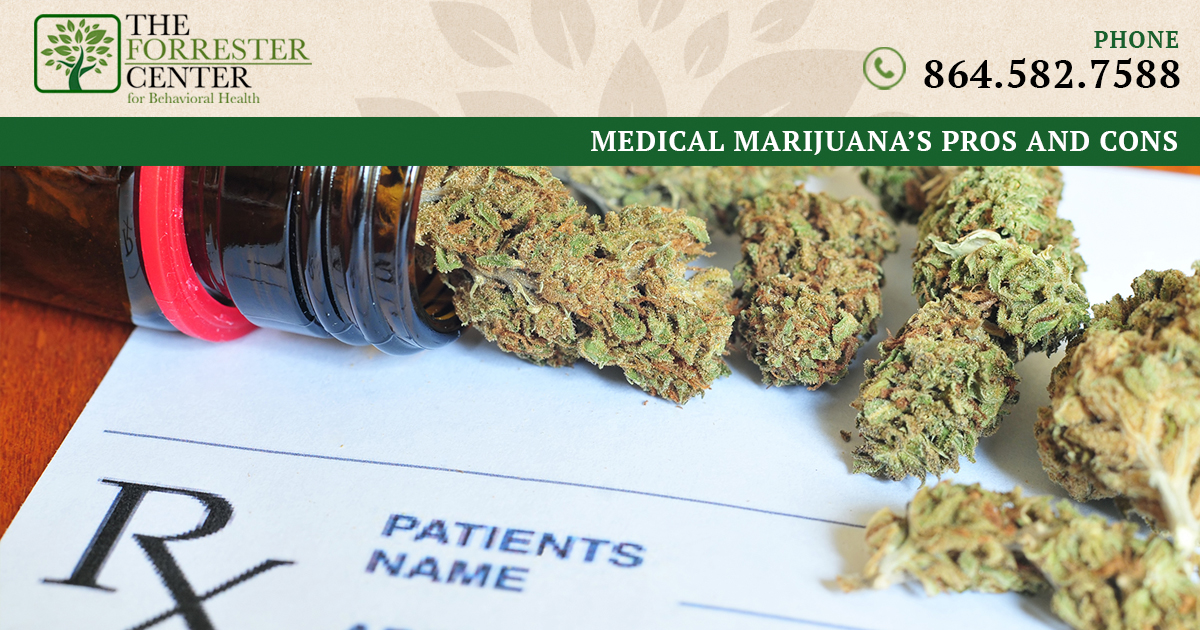 Medical Marijuana's Pros, Cons