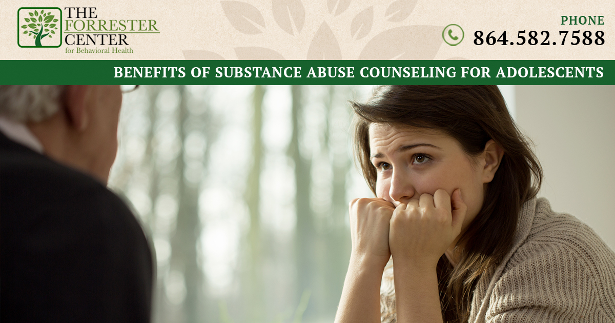 Benefits of Substance Abuse Counseling for Adolescents in Spartanburg County