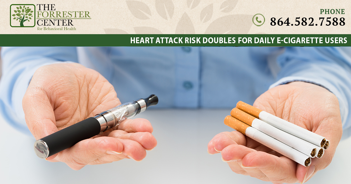 Heart Attack Risk Doubles for Daily E-cigarette Users