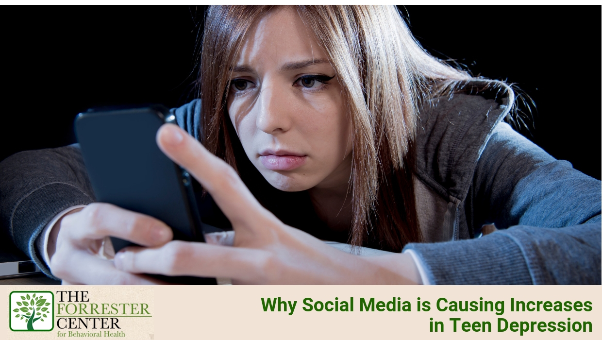 Why Social Media is Causing Increases in Teen Depression