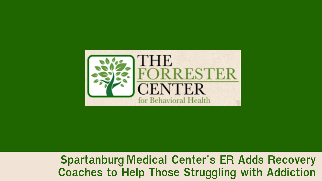 Recovery Coaches Added to Spartanburg ER